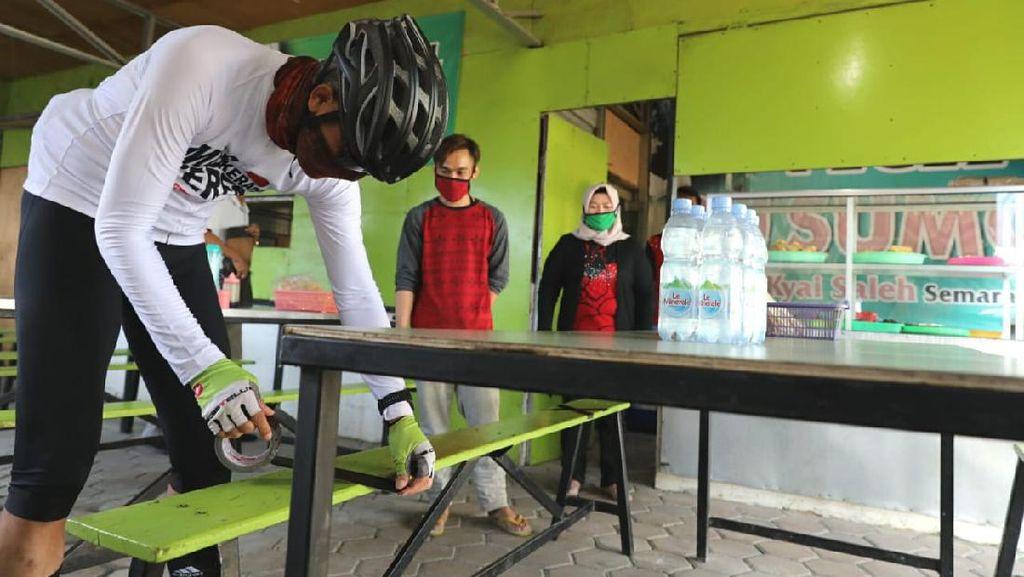 Video Ganjar Sepedaan-Sidak Pasar dan Warung Makan di Semarang