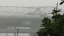 Hujan Badai Bikin Atap Stadion Batakan Balikpapan Lepas, Warga Ngeri