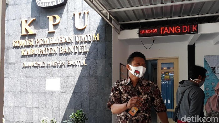 Kantor KPU Bantul.