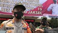 Polres Jaksel Turunkan 1.200 Personel Amankan Demo Hari Ini