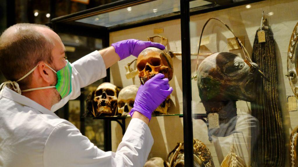 Kepala Mayat Menciut dan Tengkorak Suku Amazon Ditarik dari Museum Inggris