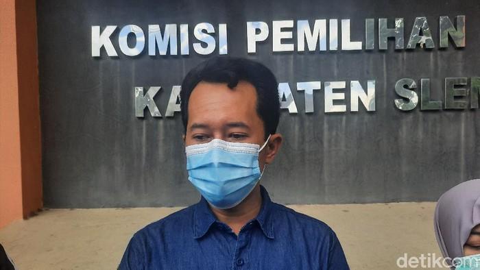 Ketua KPU Sleman Trapsi Haryadi
