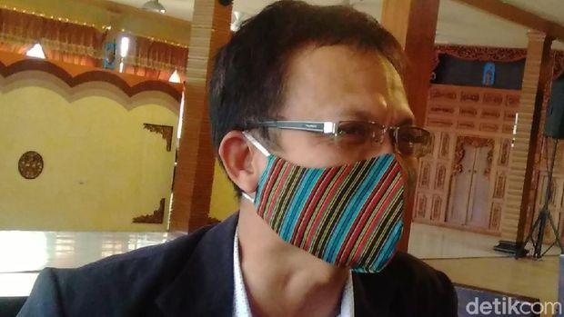 Ketua KPU Wonogiri, Toto Sihsetyo Adi.