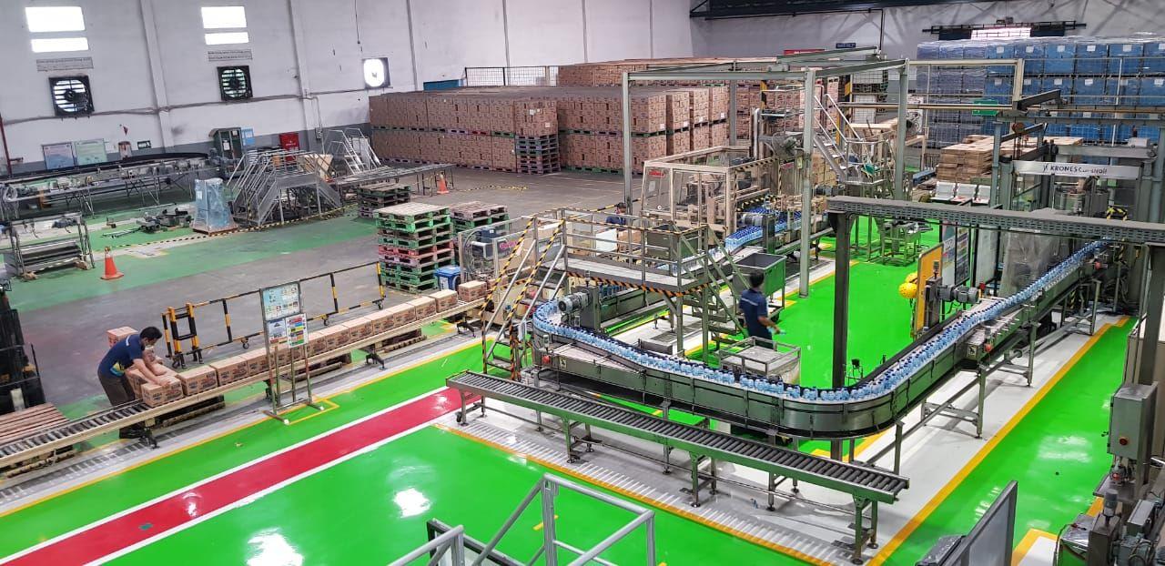 Kondisi Pabrik Aqua Terkini