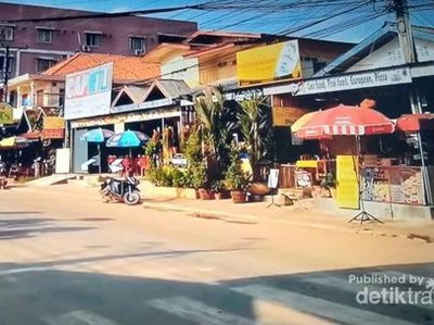 Vang Vieng, Kota Mungil di Balik Pegunungan Karst
