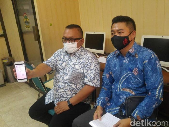 Kuasa hukum FN, perempuan yang pesannya berisi ajakan sebar virus Corona di Semarang viral, Rabu (23/9/2020).