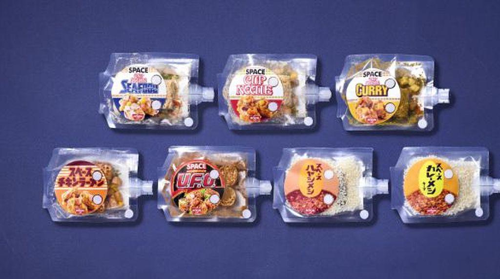 Jepang Ciptakan Ramen dan Nasi Kari Khusus untuk Astronot