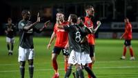 Piala Liga Inggris Luton Vs MU: Setan Merah Menang 3-0