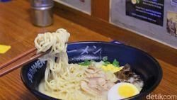 Sensasi Makan Sai Ramen, Kuliner Berkonsep Bar yang Viral
