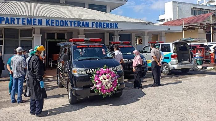 Tenaga medis di RS Muhammad Hoesin Palembang meninggal karena Corona (Dok. Istimewa)
