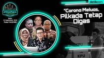dRooftalk Malam Ini: Corona Meluas, Pilkada Tetap Digas