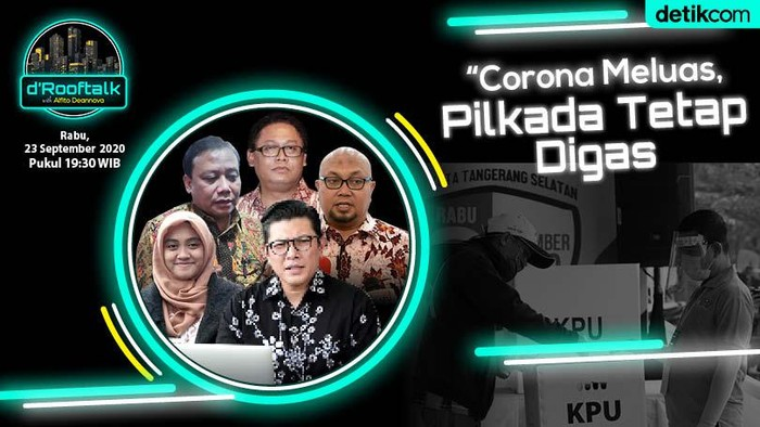 Thumbnail dRooftalk Corona Meluas Pilkada Tetap Digas