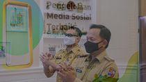 Pemkot Bogor Raih Penghargaan Keterbukaan Informasi dari Ridwan Kamil