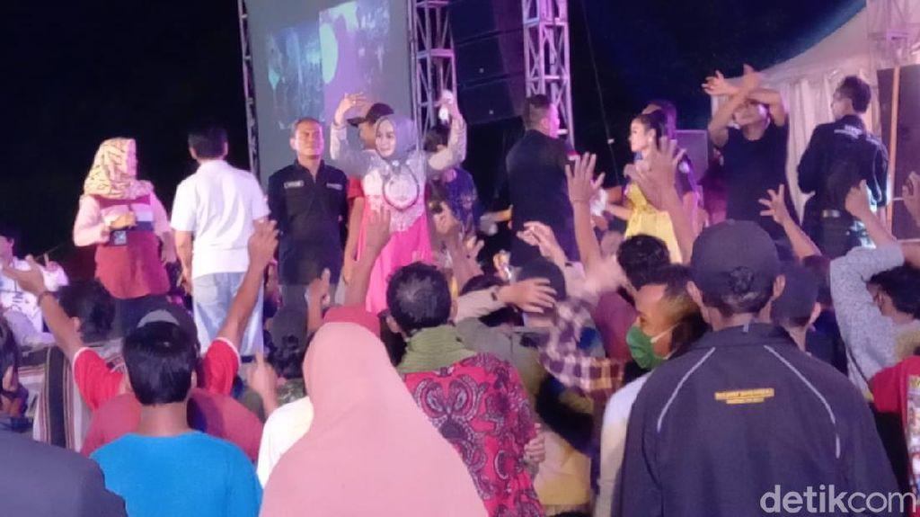 Penyelenggara Konser Dangdut Wakil Ketua DPRD Kota Tegal Diperiksa Polisi