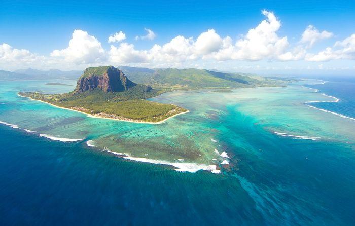 Air terjun bawah laut Mauritius