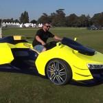 Keren, ATV Ini Pakai  Tampang dan Mesin Supercar