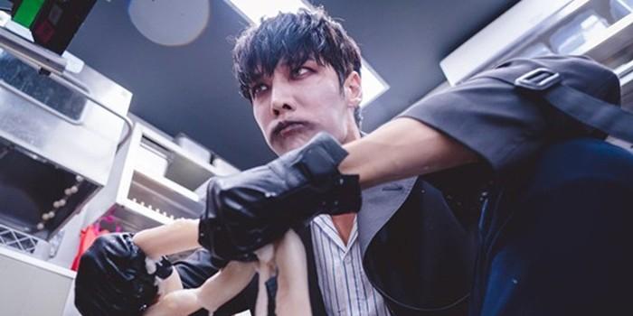 Berperan Jadi Zombie, Choi Jin Hyuk Makan Usus Sapi Mentah