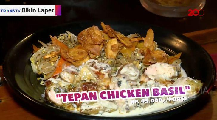 Bikin Laper! Enaknya Teppan Chicken Basil dan Tenderloin ala Jepang