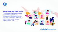 Persiapkan SDM Unggul, Akademisi Tekankan Pentingnya Pengendalian Penduduk