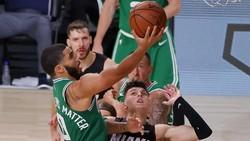 Hasil NBA: Herro Bikin Rekor, Heat Kandaskan Celtics