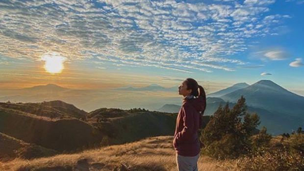 Dinda Kirana dan Gunung Prau