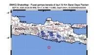 Gempa M 4,7 Guncang Pacitan, Warga Merasa Seperti Terbanting
