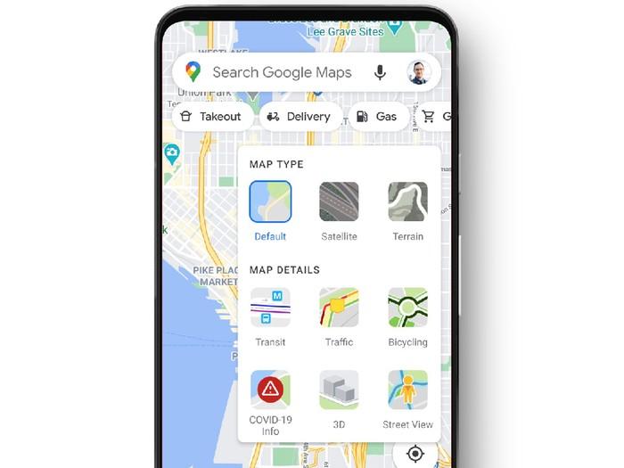Google Maps tampilkan tren kasus COVID-19
