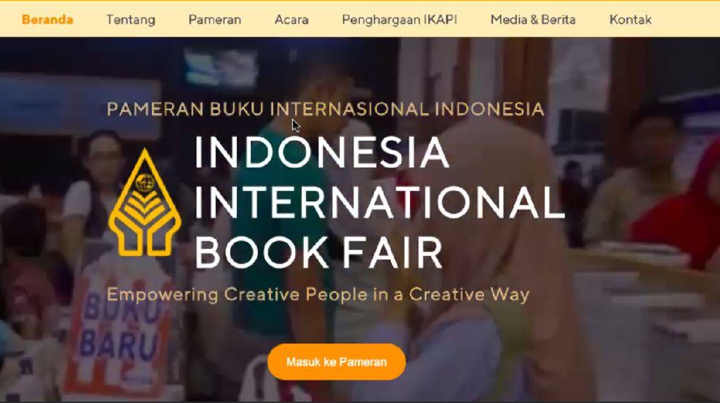 IIBF 2020 Edisi Virtual Digelar 10 Hari dan Hadirkan 1 Juta Buku