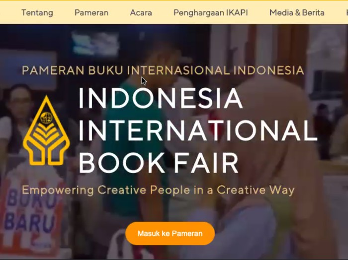 Indonesia International Book Fair (IIBF) 2020 Digelar Virtual