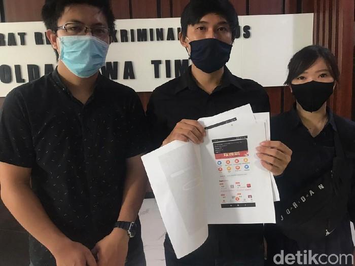 Ada kasus dugaan investasi bodong di Jatim. Polda Jatim mendalami kasus tersebut setelah menerima laporan dari puluhan nasabah yang mengaku tertipu, Rabu (23/9).