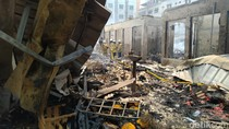 Cerita Pedagang soal Detik-detik Kebakaran Pasar Cempaka Putih Jakpus