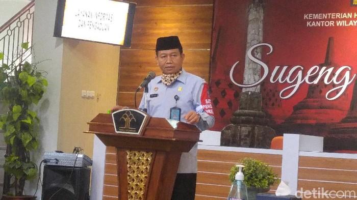 Kepala Kantor Wilayah Kementrian Hukum dan HAM Jateng Priyadi