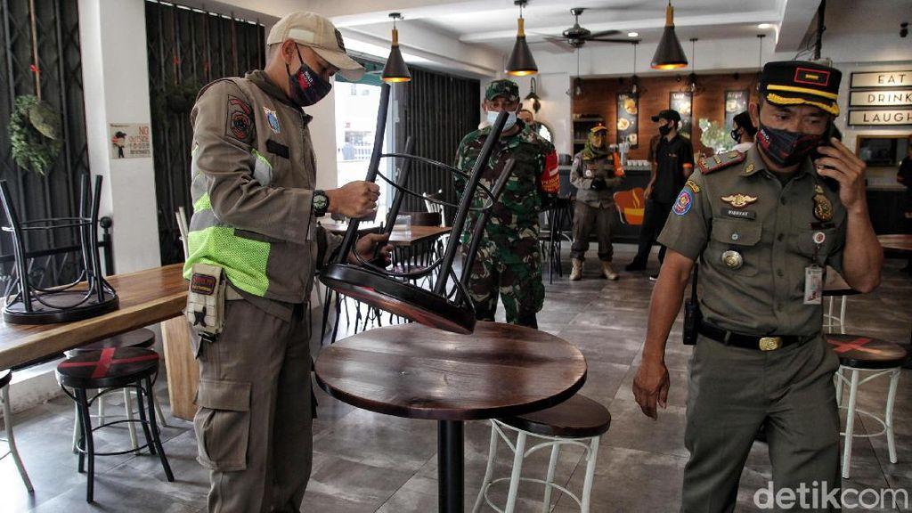1.400 Restoran Terancam Tutup Imbas PSBB Ketat DKI