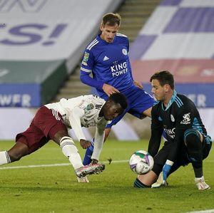 Video Piala Liga Inggris: Arsenal Bungkam Leicester 2-0