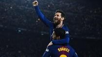Video Pesan Perpisahan Messi Buat Suarez Sindir Petinggi Barcelona