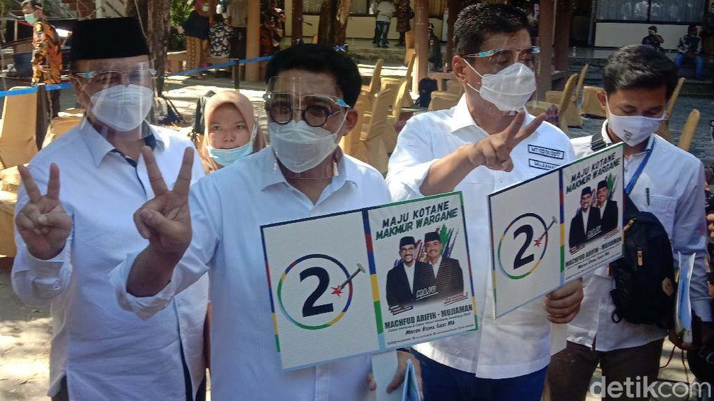 No Urut 2, Machfud-Mujiaman: Angka Victory, Sama Seperti Jokowi Pilpres 2014