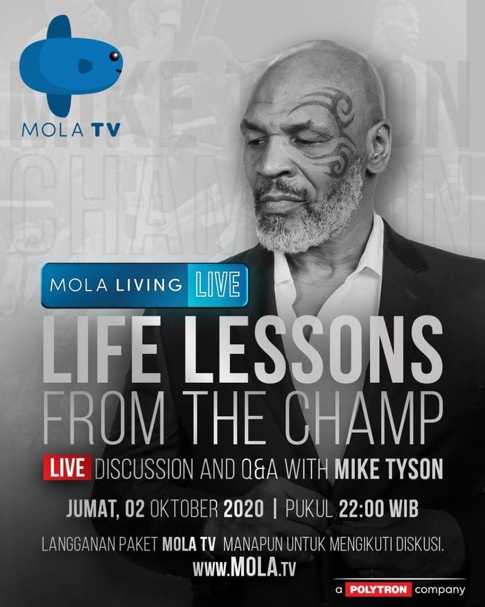 Mike Tyson di Mola TV