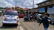 Cegah Corona, Mobil Woro-woro Incar Warga Berkerumun di Ciamis