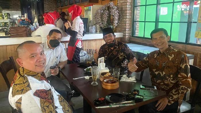 Muannas Alaidid bertemu Hadi Pranoto di Polda Metro Jaya