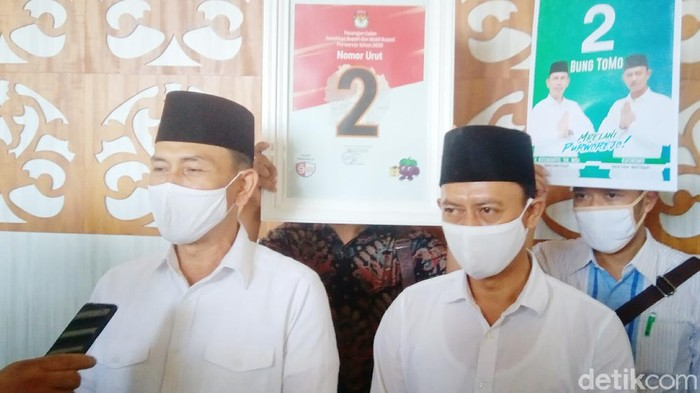Pasangan Kuswanto-Kusnomo, duet TNI-Polri di Pilkada Purworejo 2020