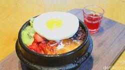 Yummy! Segarnya Es Serut Bibimbap dan Telur ala Korea