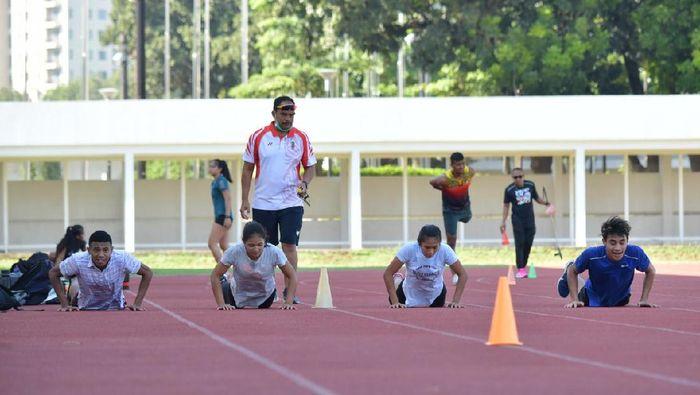 Pelatnas Atletik diawasi langsung Kemenpora.