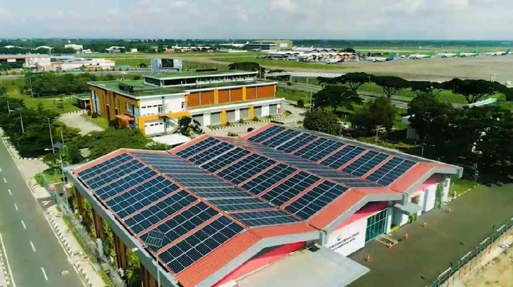 Bandara Soetta Pakai Listrik Tenaga Matahari, Ini Penampakannya