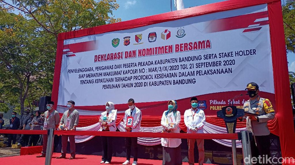 Optimisme 3 Paslon di Pilbup Bandung dengan Nomor Urut yang Didapat