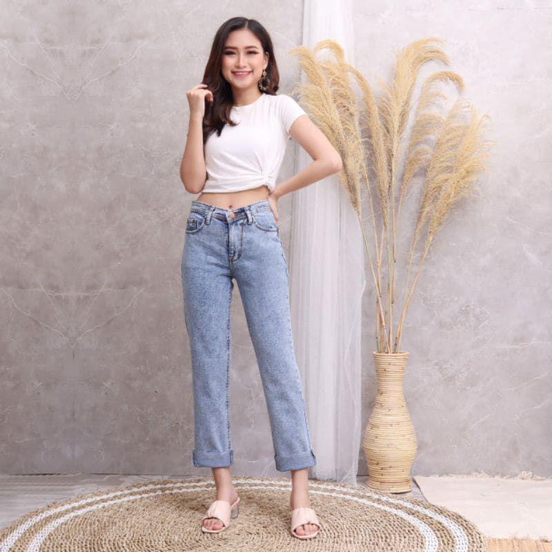 Rekomendasi Online Shop Boyfriend Jeans