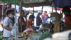 Survei BPS: Protokol Kesehatan di Pasar Tradisional Sangat Rendah