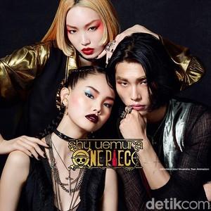 Penggemar Anime, Shu Uemura Rilis Makeup Kolaborasi dengan One Piece