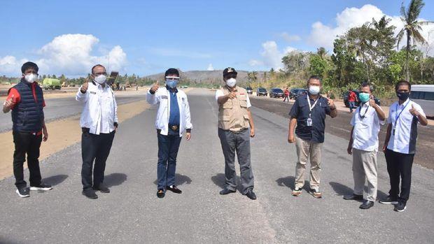 Kawasan sirkuit MotoGP Mandalika yang berada di Lombok Tengah, Nusa Tenggara Barat, diselimuti jaringan 4G.