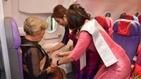 Thai Airways mengajukan perlindungan kebangkrutan pada bulan Mei. Saat pandemi masih menerpa, berbagai maskapai dan bandara berusaha bertahan dan mencari cara mendapatkan penghasilan.(Cherdpan Werakul/Crew Journey/Facebook)
