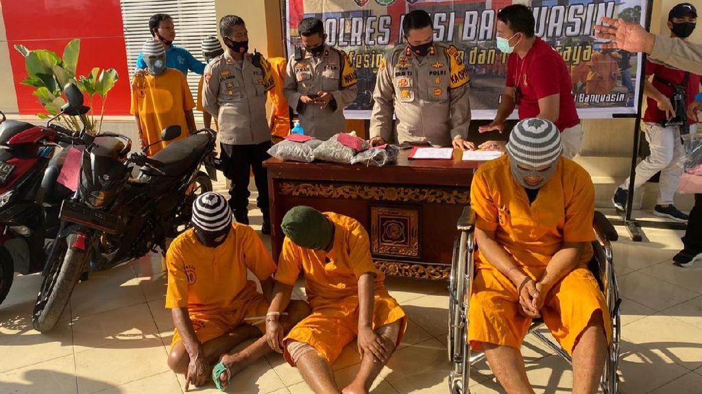 Selalu Lolos di Malaysia, Bandit Pecah Kaca Ditangkap Usai Beraksi di Sumsel